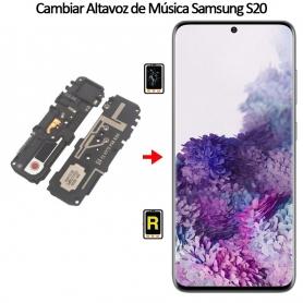 Cambiar Altavoz De Música Samsung galaxy S20
