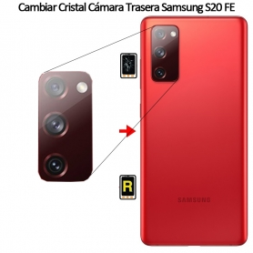 Cambiar Cristal Cámara Trasera Samsung S20 FE