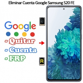 Eliminar Cuenta Google Samsung galaxy S20 FE