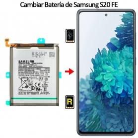 Cambiar Batería Samsung galaxy S20 FE