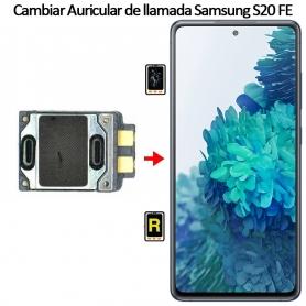 Cambiar Auricular De Llamada Samsung galaxy S20 FE
