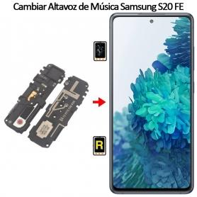 Cambiar Altavoz De Música Samsung galaxy S20 FE