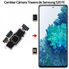 Cambiar Cámara Trasera Samsung galaxy S20 FE