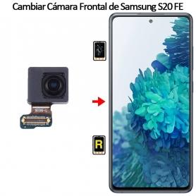 Cambiar Cámara Frontal Samsung galaxy S20 FE