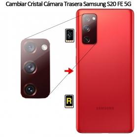 Cambiar Cristal Cámara Trasera Samsung S20 FE 5G
