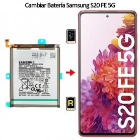 Cambiar Batería Original Samsung Galaxy S20 FE 5G