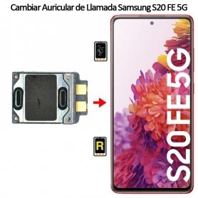 Cambiar Auricular De Llamada Samsung galaxy S20 FE 5G