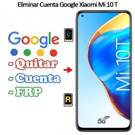 Eliminar Cuenta Google Xiaomi Mi 10T