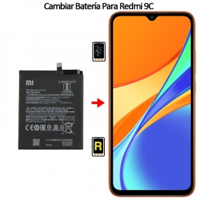 cambiar bateria Redmi 9C