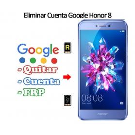 Eliminar Cuenta Google Honor 8