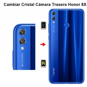 Cambiar Cristal Cámara Trasera Honor 8X