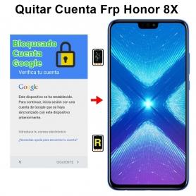 Eliminar Cuenta Google Honor 8X
