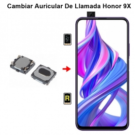 Cambiar Auricular De Llamada Honor 9X