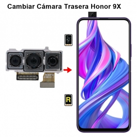 Cambiar Cámara Trasera Honor 9X
