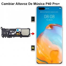 Cambiar Altavoz De Música Huawei P40 Pro plus