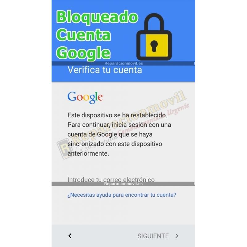 Eliminar Cuenta Google BQ E5S