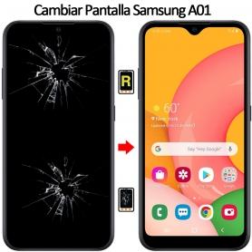 Cambiar Pantalla Samsung Galaxy A01
