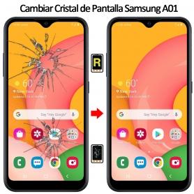 Cambiar Cristal Samsung Galaxy A01