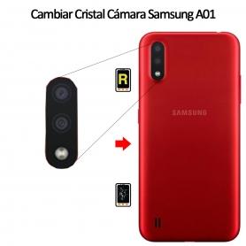 Cambiar Cristal Cámara Trasera Samsung Galaxy A01