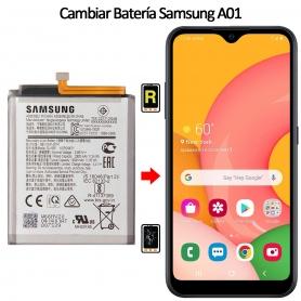 Cambiar Batería Samsung Galaxy A01