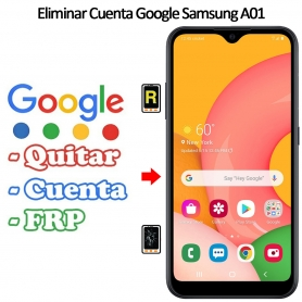 Eliminar Cuenta Google Samsung Galaxy A01