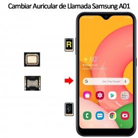 Cambiar Auricular De Llamada Samsung Galaxy A01
