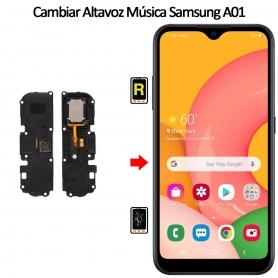 Cambiar Altavoz De Música Samsung Galaxy A01