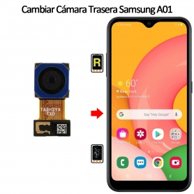Cambiar Cámara Trasera Samsung Galaxy A01