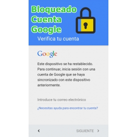 Eliminar Cuenta Google BQ V PLUS