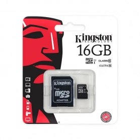 KINGSTON Micro SD De 16GB Clase 10 45MB/S