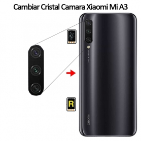 Cambiar Cristal de Cámara Xiaomi Mi A3