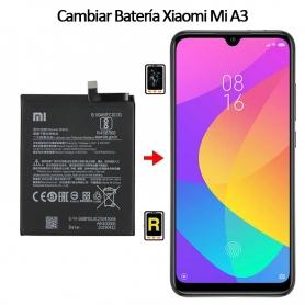 Cambiar Batería Xiaomi Mi A3