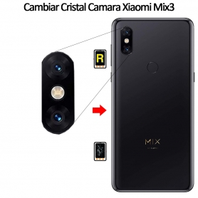 Cambiar Cristal Cámara Trasera Xiaomi Mi Mix 3