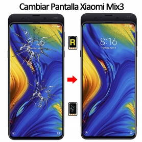 Cambiar Cristal De Pantalla Xiaomi Mi Mix 3