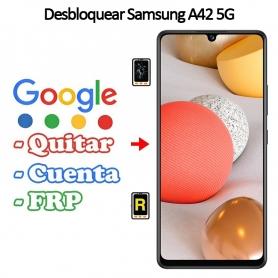 Eliminar Contraseña y Cuenta Google Samsung Galaxy A42 5G