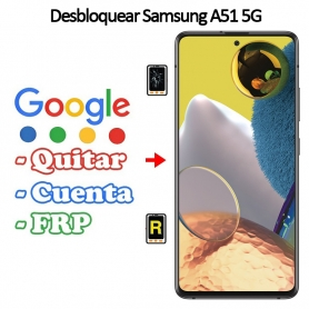 Eliminar Contraseña y Cuenta Google Samsung Galaxy A51 5G