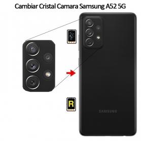 Cambiar Cristal Cámara Trasera Samsung Galaxy A52