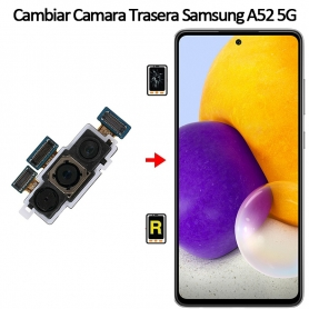 Cambiar Cámara Trasera Samsung Galaxy A52