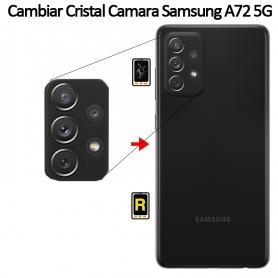 Cambiar Cristal Cámara Trasera Samsung Galaxy A72