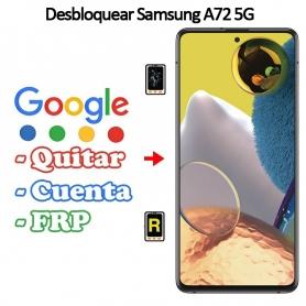 Eliminar Contraseña y Cuenta Google Samsung Galaxy A72