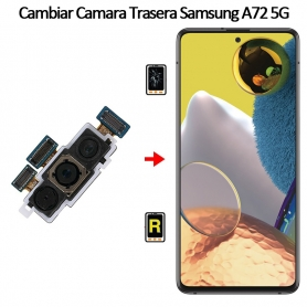 Cambiar Cámara Trasera Samsung Galaxy A72