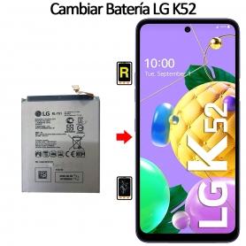 Cambiar Batería LG K52