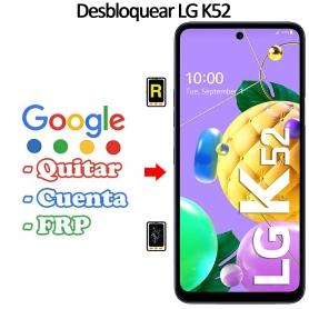 Eliminar Contraseña y Cuenta Google LG K52