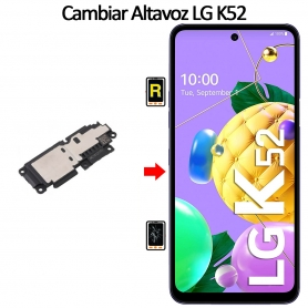 Cambiar Altavoz De Música LG K52