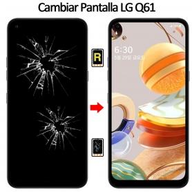 Cambiar Cristal De Pantalla LG Q61