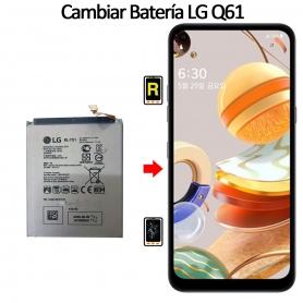 Cambiar Batería LG Q61