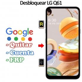 Eliminar Contraseña y Cuenta Google LG Q61