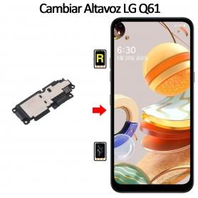 Cambiar Altavoz De Música LG Q61