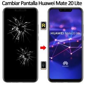 Cambiar Cristal De Pantalla Huawei Mate 20 Lite