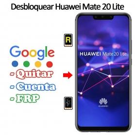 Eliminar Contraseña y Cuenta Google Huawei Mate 20 Lite